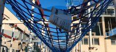 Redes de seguridad bajo forjado: Ensayos dinámicos