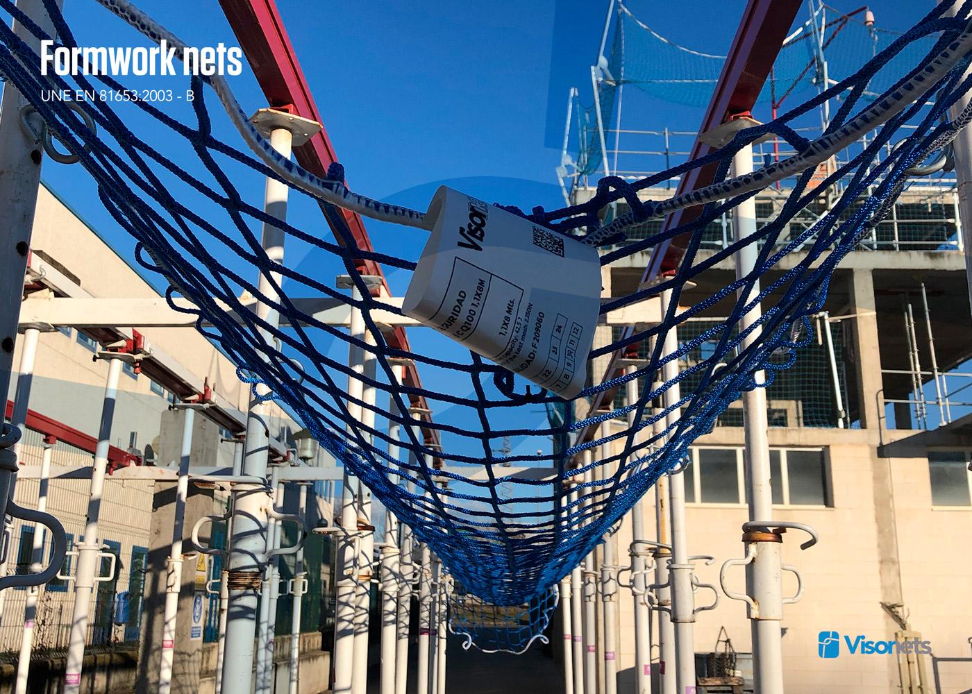 Sistema de redes de seguridad bajo forjado Norma UNE 81652:2013