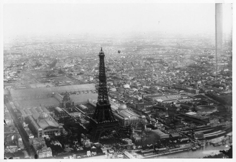 Aniversario de la Torre Eiffel - Redes de Seguridad