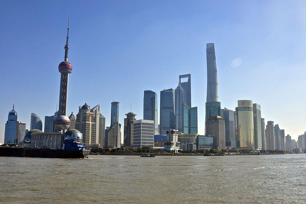 en shanghi est casi terminado el segundo edificio ms alto del mundo