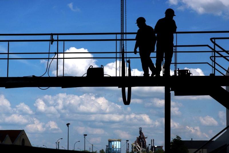 Las caídas en el sector de la construcción, un riesgo evidente