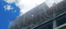 Importancia de las redes de seguridad y redes antiescombros