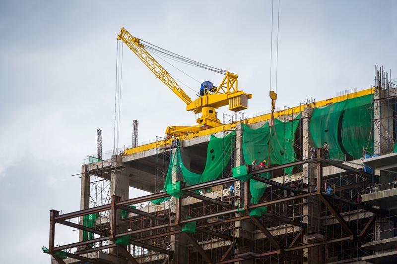Riesgos laborales en construcción