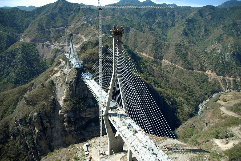 Redes de seguridad - Puente Baluarte Bicentenario