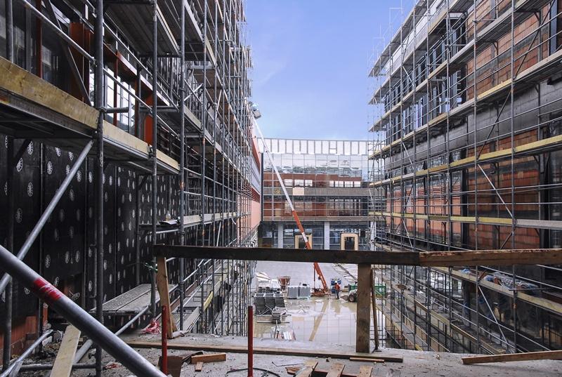 El sector de la construcción en España crece un 12%