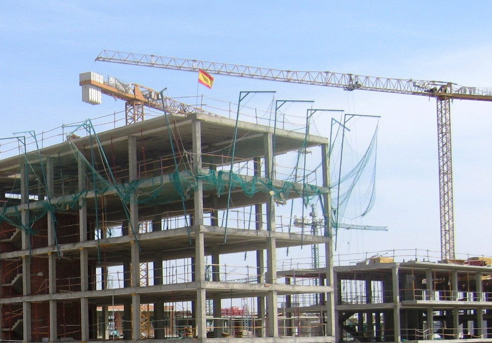 Seguridad construcción Trabajos con riesgos de caída desde altura