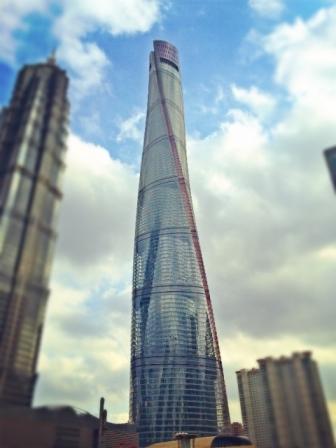 Shanghái está casi terminado el segundo edificio más alto del mundo