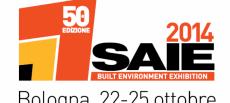Estaremos en la 50 edición de la Feria Saie en Bolonia