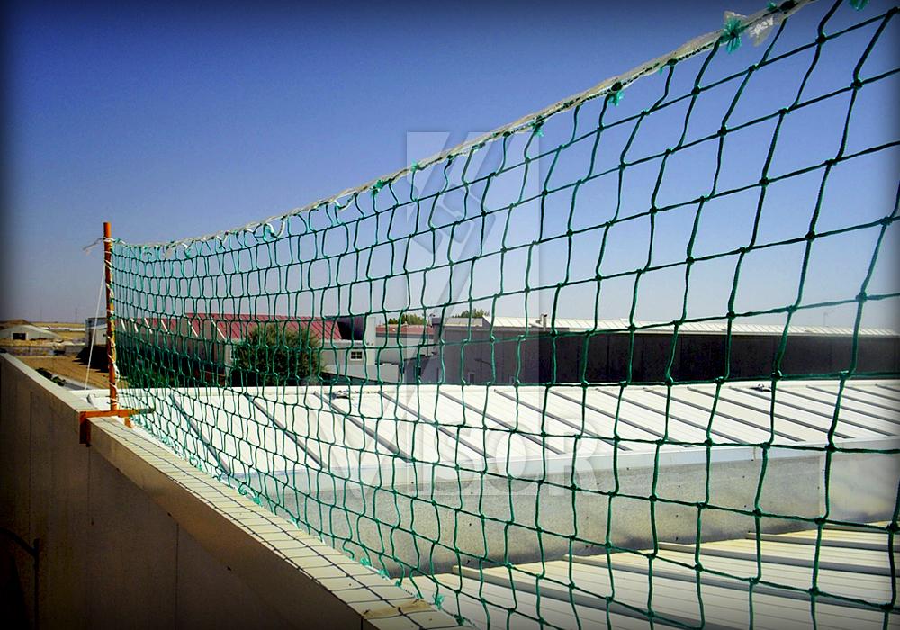 Redes de seguridad tipo tenis redes de seguridad for Malla de construccion
