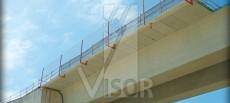 Redes de seguridad para puentes y viaductos