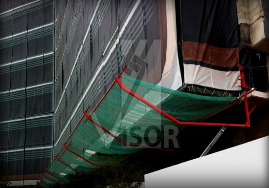 Visor-Redes-de-seguridad-Centro-Comercial-Titan Plaza-Bobota-Colombia-Sistema-Visor-T