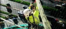 Redes de seguridad: Riesgos derivados del montaje, sustitución o desmontaje