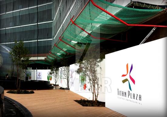 Visor-Redes-de-seguridad-Centro-Comercial-Titan Plaza-Cierre-perimetral-Visor-T