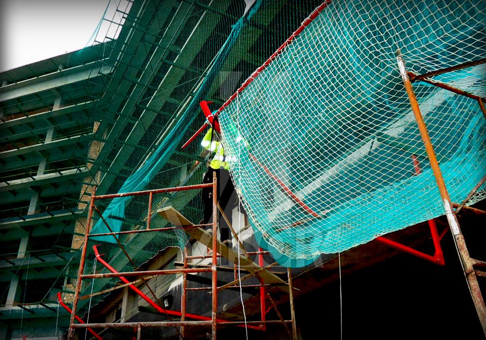 Tipos de redes de seguridad en construcci n for Empresas de construccion en bogota