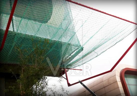 Visor-Redes-de-seguridad-Centro-Comercial-Titan Plaza-Sistema-de-redes-cierre-perimetral