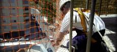 Protección individual durante el montaje, sustitución o desmontaje de redes de seguridad
