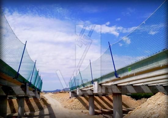 Visor-redes-de-seguridad-puentes-y-viaductos-autopista-a33