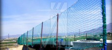 Características de los medios de fijación de las redes de seguridad