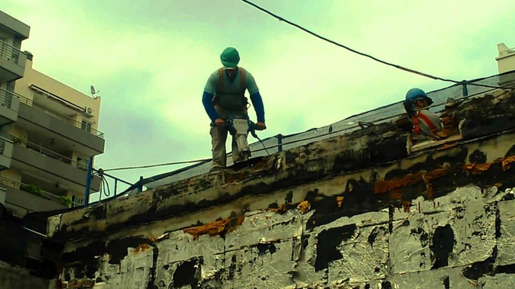 accidentes laborales en España - Redes de seguridad