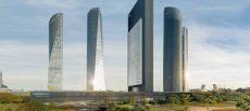 Los sistemas de protección colectiva Visornets, en la quinta torre de Madrid