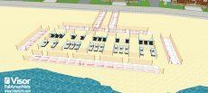 Sistema de redes para delimitación de playas ante el COVID19