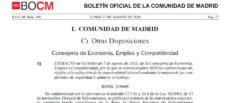 La Comunidad de Madrid lanza una convocatoria de subvenciones destinada a la reducción de la siniestralidad laboral