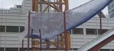 ¿Resisten las redes tipo S un impacto de una masa de 24 kg lanzada desde 25 metros de altura?