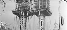 Torres Colón de Madrid: pionera en el uso de redes de seguridad colectiva
